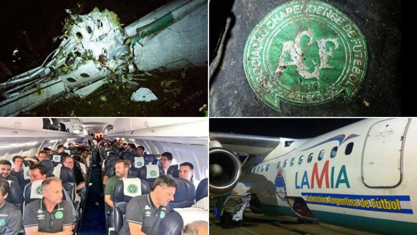 Se estrelló el avión que transportaba al equipo brasileño Chapecoense. (Foto: Web)