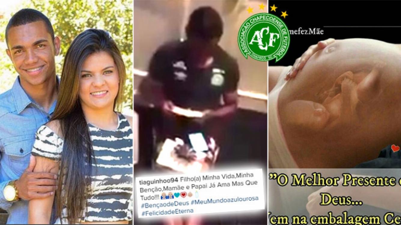 Un futbolista de Chapecoense se enteró que iba a ser padre antes de la tragedia. (Foto: Web)