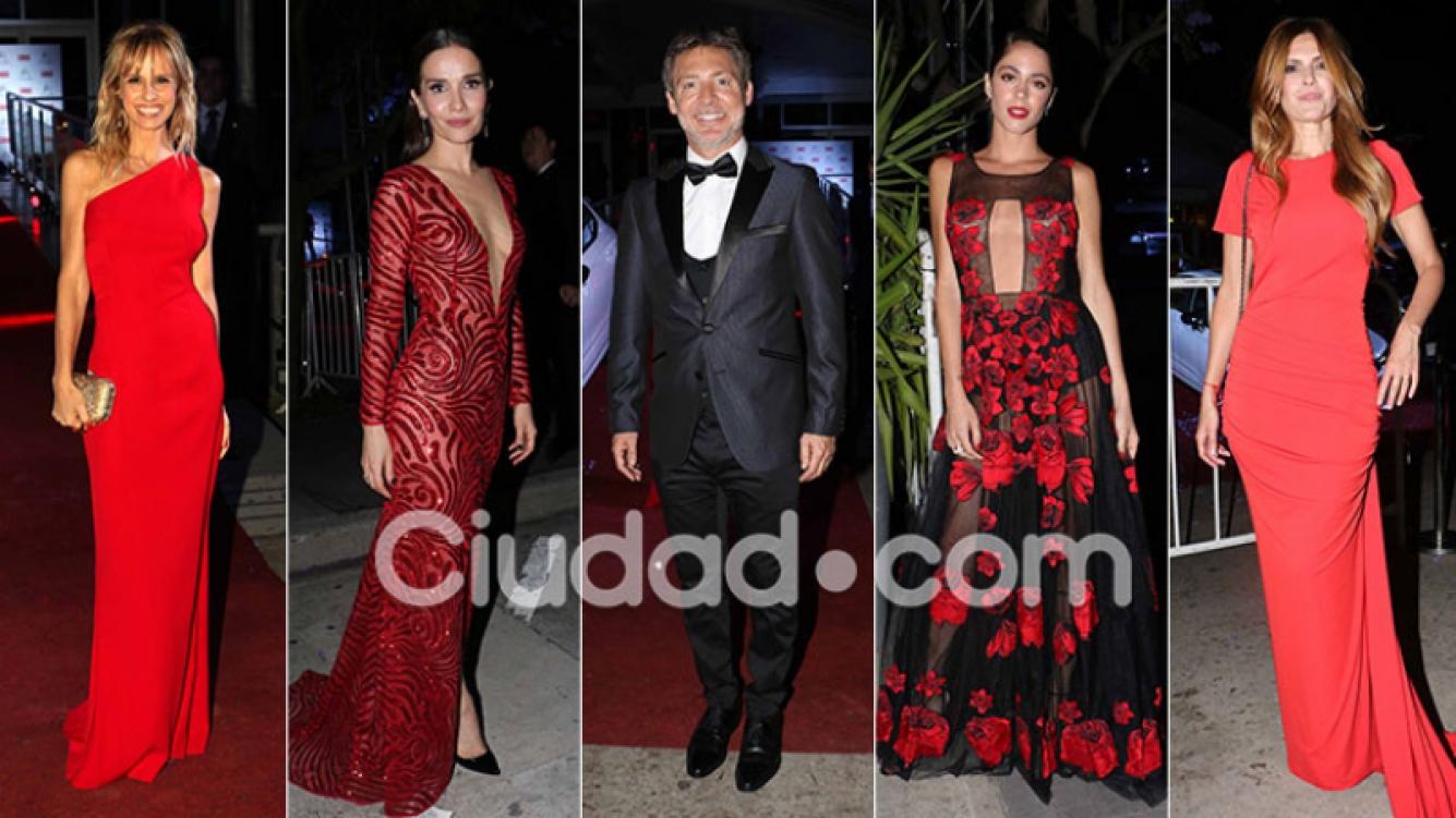 Diosas y súper looks en la gala homenaje a Adrián Suar de la revista Caras. (Foto: Movilpress)