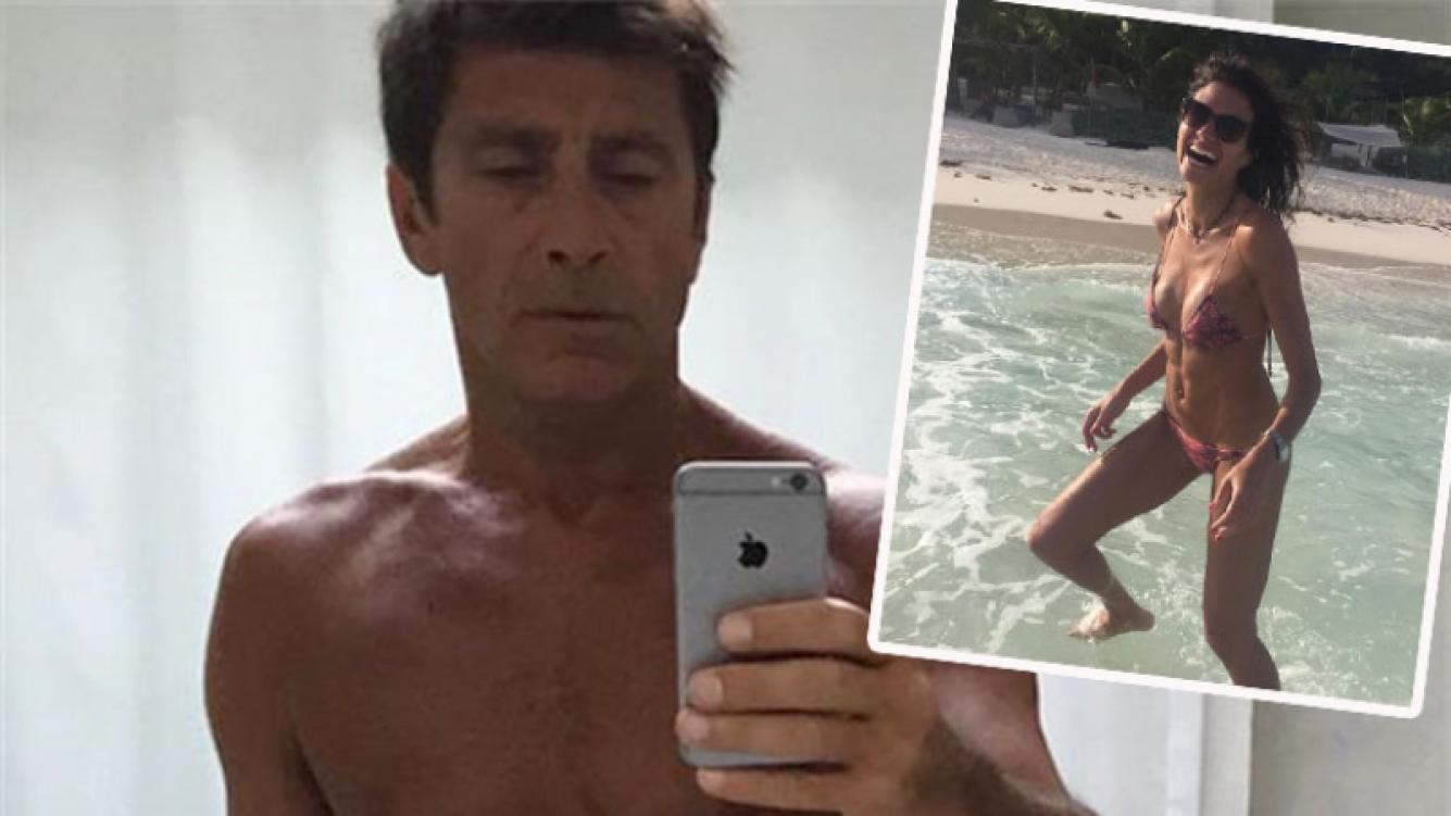 Nicolás Repetto compartió una foto súper sexy de Florencia Raggi en bikinI (Foto: Instagram)
