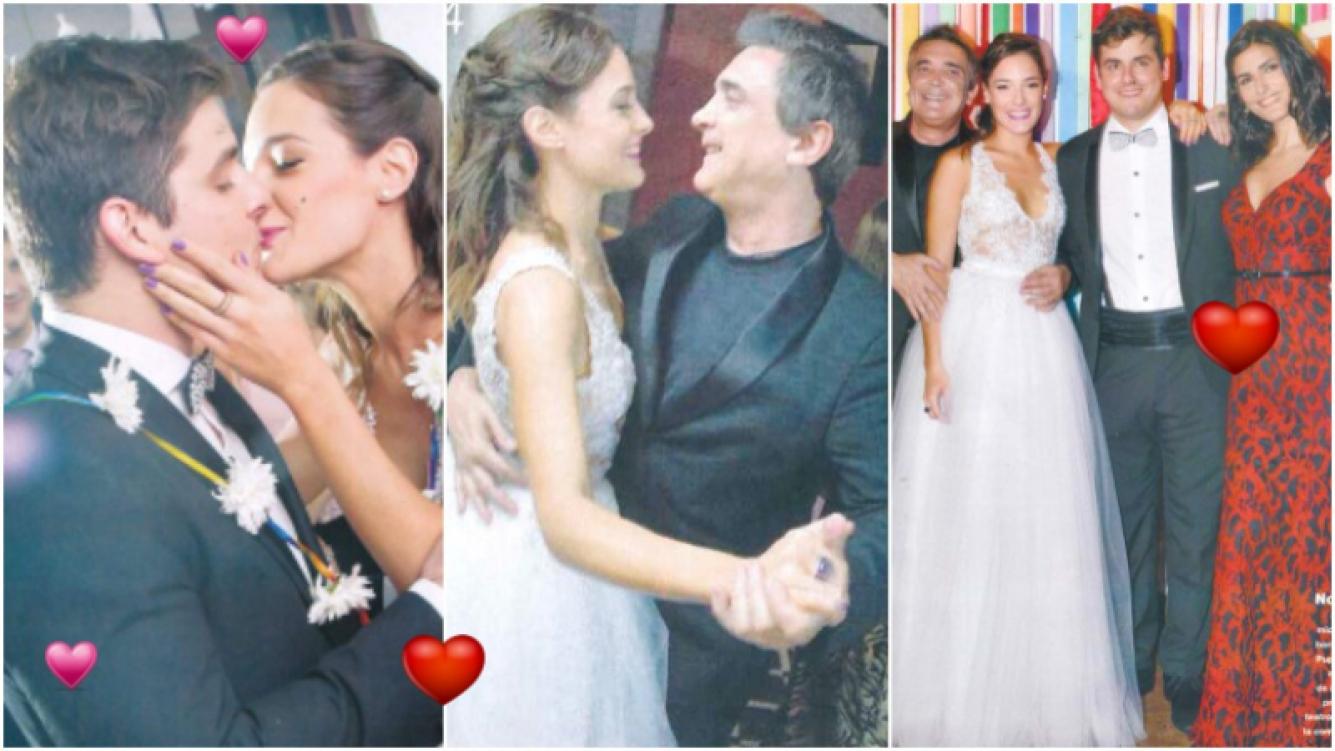 Las fotos del casamiento de Sabrina Artaza y John Morris (Fotos: revista Gente)