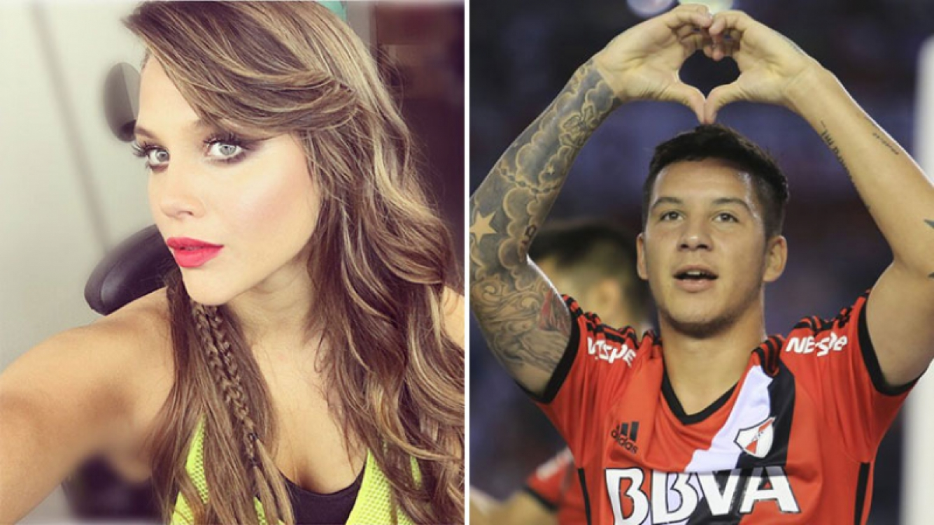 Barbie Vélez salió a desmentir su affaire con Sebastián Driussi. Foto: Web.