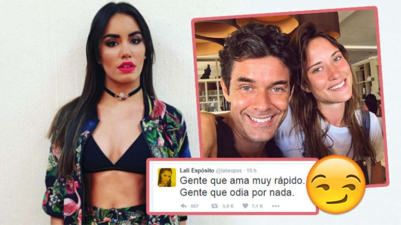 Lali Espósito y un sugerente tweet en el día del cumpleaños de Mariano Martínez (Foto: web e Instagram)
