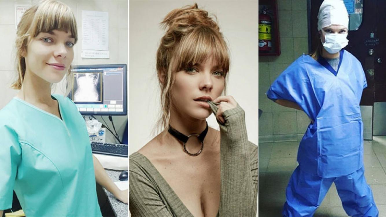 Laura Laprida, el lado desconocido de la bella actriz que trabaja de radióloga (Foto: Instagram)