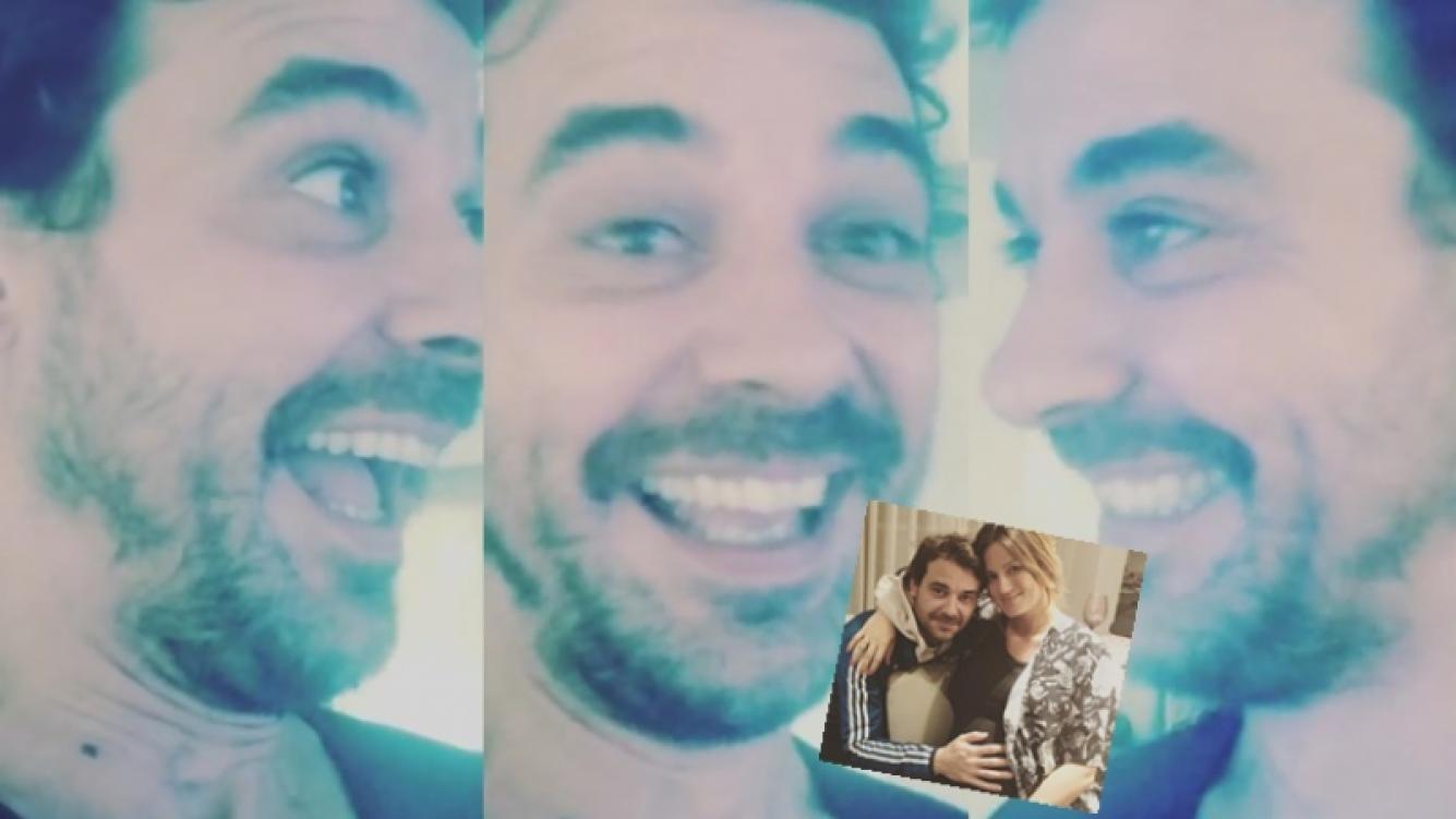 Pedro Alfonso, su reacción cuando se entera por TV que Paula Chaves espera un varoncito (Foto: Instagram)