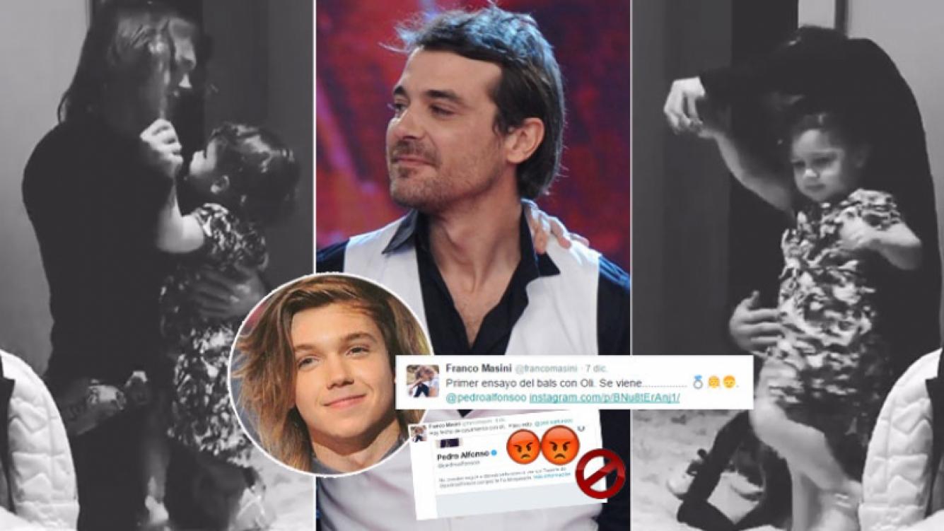 Franco Masini le propuso casamiento a Olivia...y Pedro Alfonso se enojó (Foto: web y Twitter)