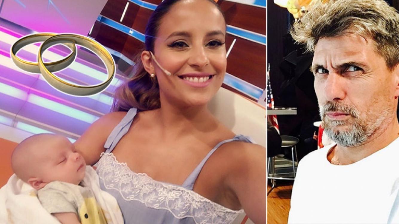 Lourdes Sánchez le volvió a reclamar casamiento al Chato Prada. Foto: Web