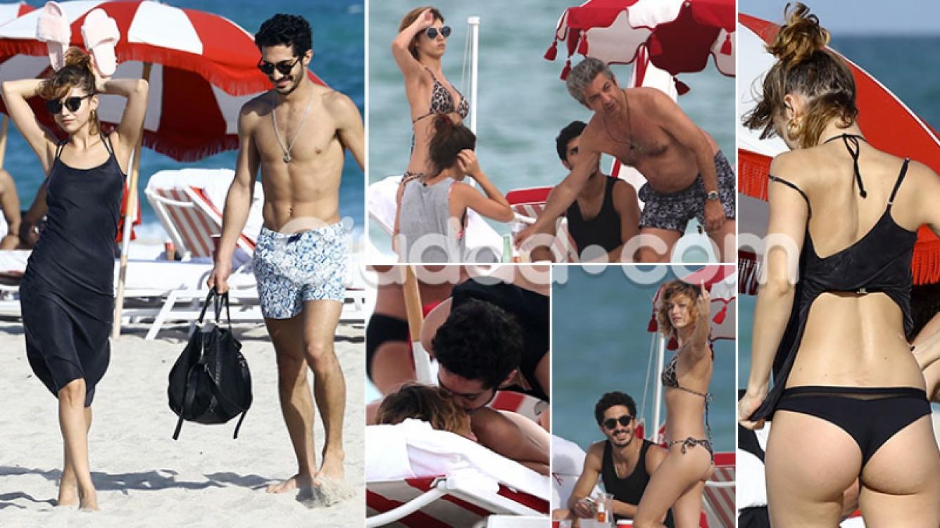 El Chino Darín y Úrsula Corberó, enamorados en Miami. (Foto: Grosby Group)