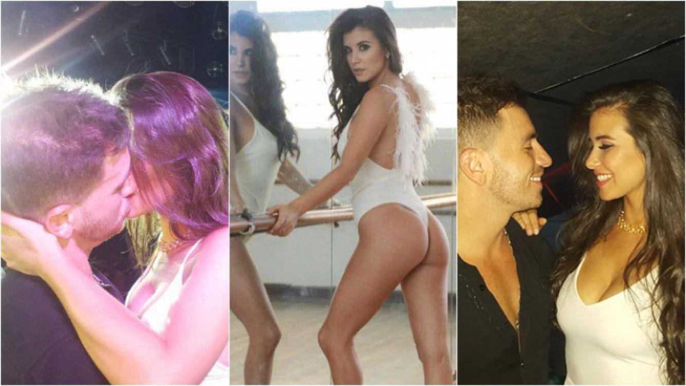 """Fede Bal tuvo un """"falso compromiso"""" con Daia Arletazz, bailarina de ShowMatch, en un boliche de Colón, Entre Ríos. Fotos: gentileza Gustavo Saldaña"""