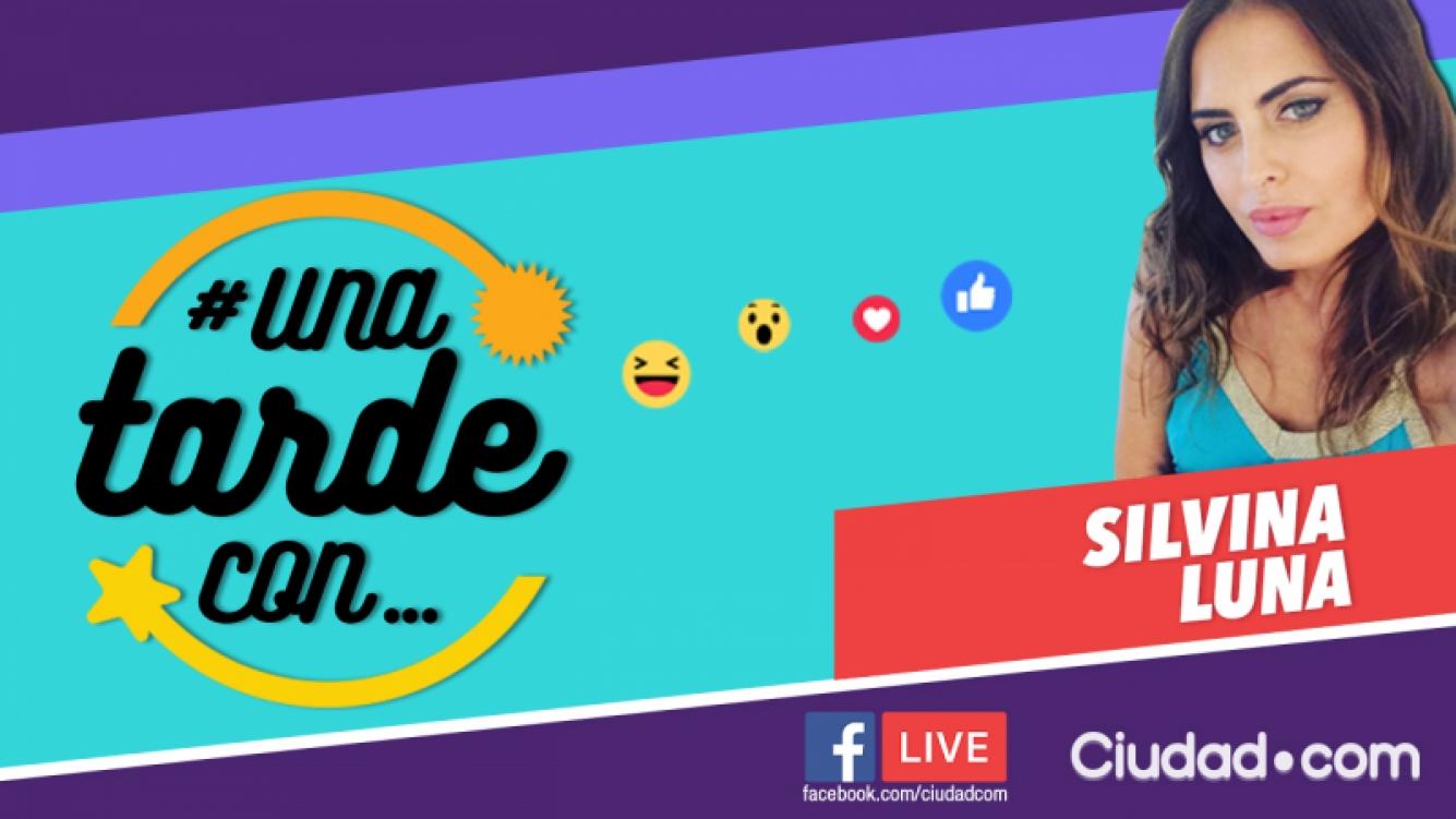Silvina Luna, en #UnaTardeCon por Facebook Live.