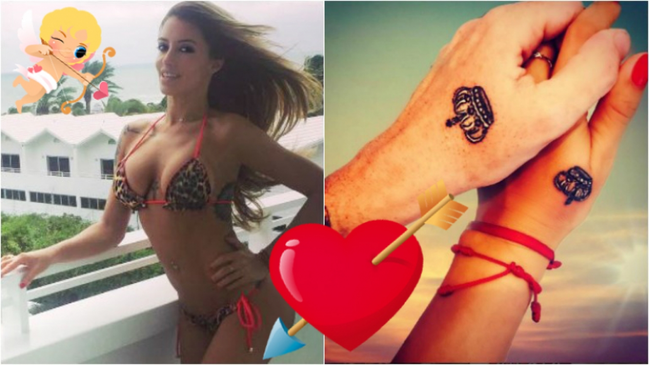 Claudia Ciardone volvió a apostar al amor y pasó por el tatuador junto a su nuevo novio. Foto: Instagram