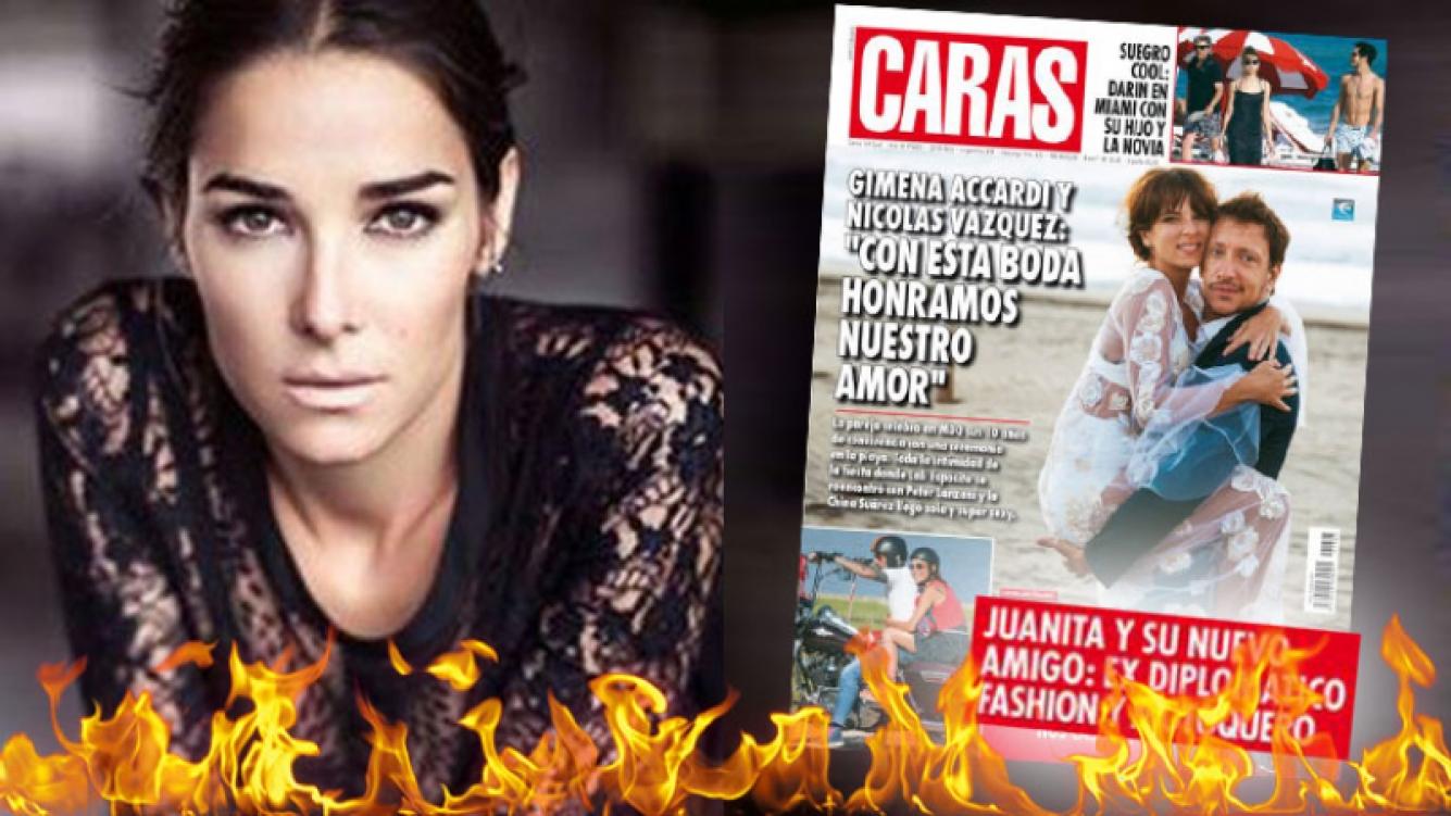 El enojo de Juana Viale contra la revista Caras al ver sus fotos con un hombre