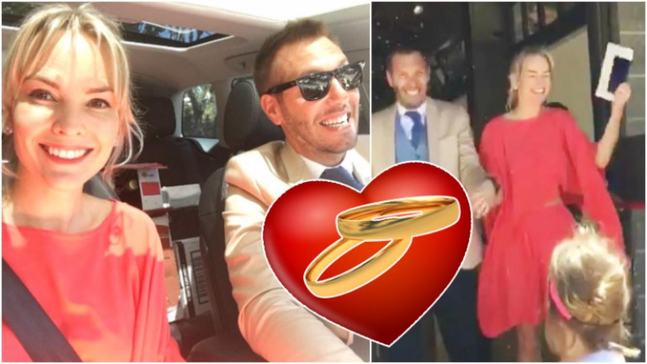 Muni se casó con Nicolás Naymark (Fotos: Instagram)