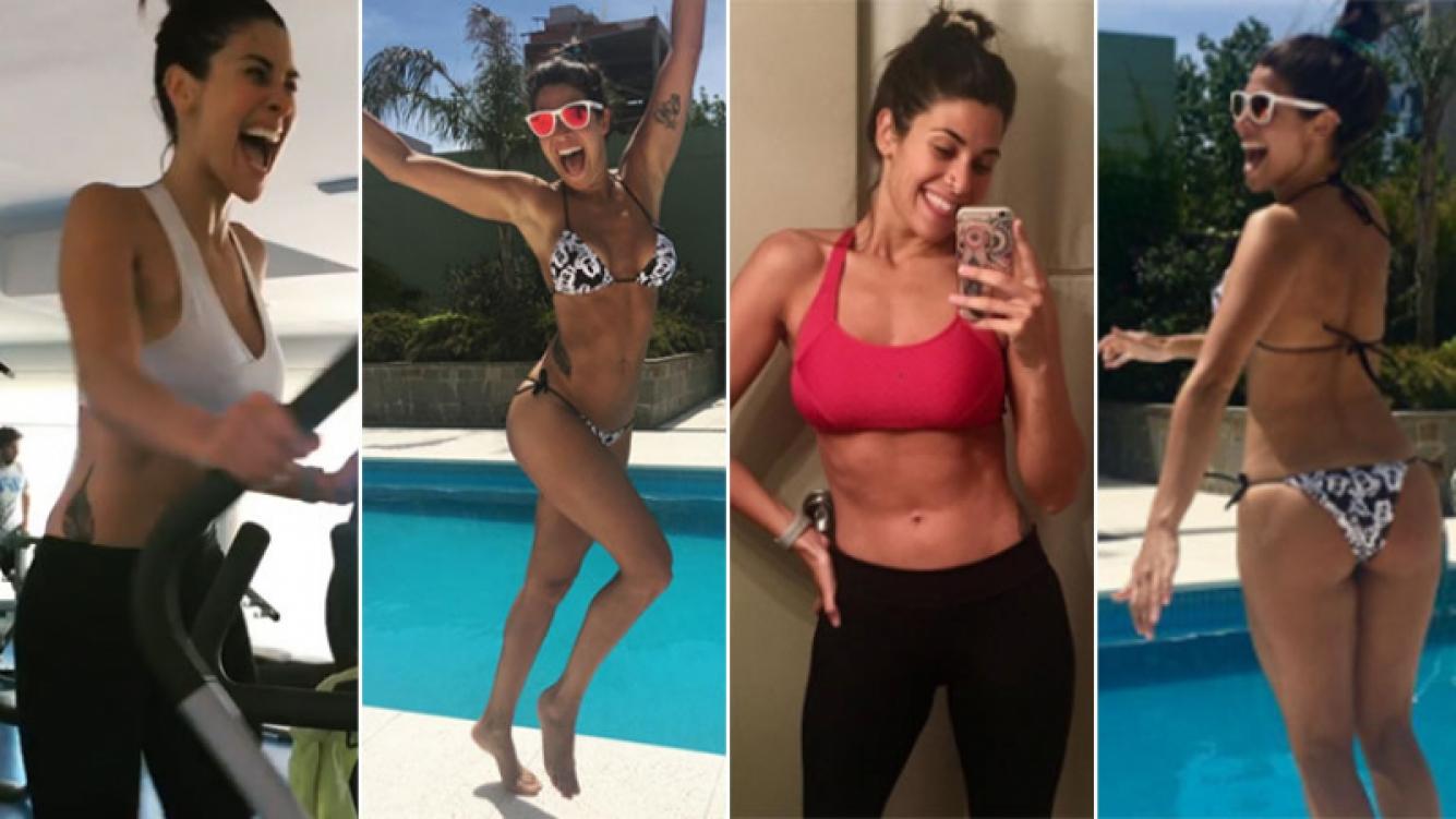 Ivana Nadal y su exigente rutina de gym de cara al verano. (Foto: Instagram)