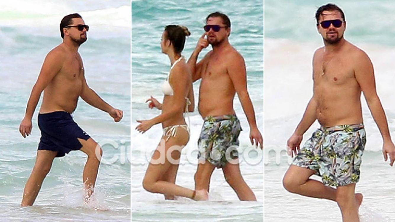 Leonardo DiCaprio camina junto a una misteriosa amiga en Cancún, mientras su novia trabajaba en una campaña. (Foto: GrosbyGroup.)