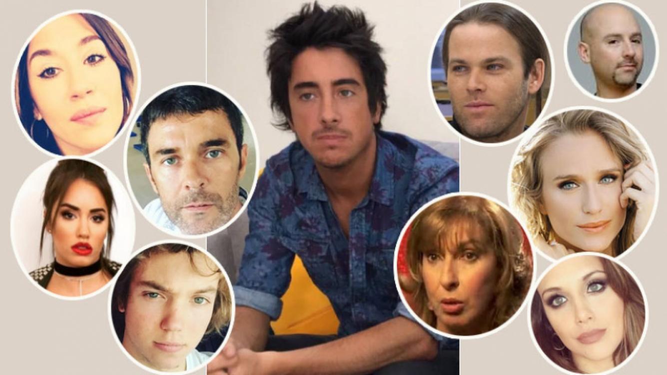 Los tweets de los famosos tras la muerte de Santiago Vázquez (Foto: web y Twitter)