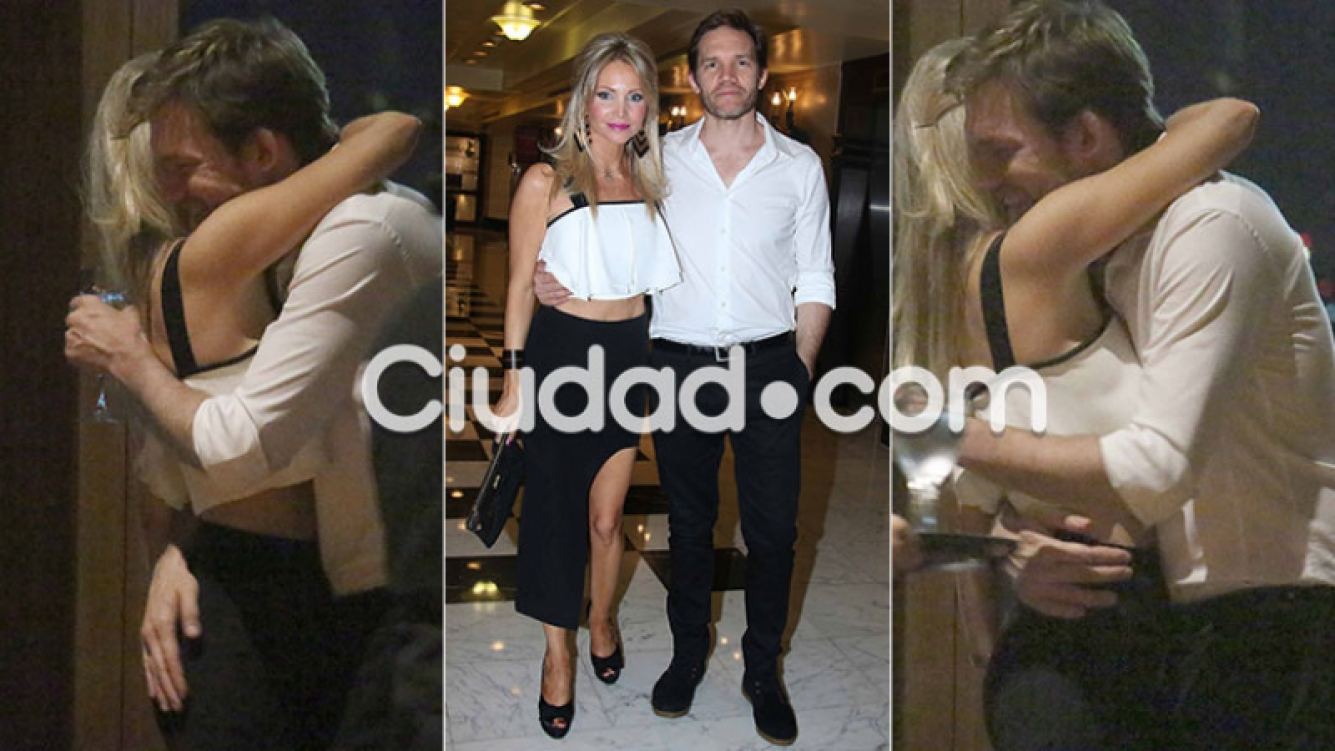 Juan Gil Navarro y su mujer se mostraron súper enamorados (Foto: Movilpress)