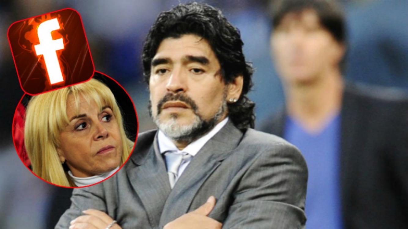 El enojo de Diego Maradona con Claudia Villafañe (Fotos: Web)