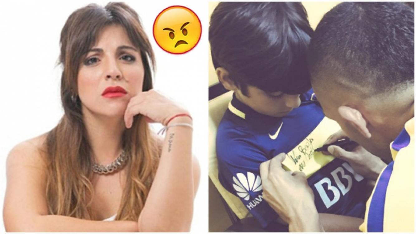 Gianinna Maradona decidió no publicar más fotos de su hijo en Twitter (Fotos: Web y Twitter)