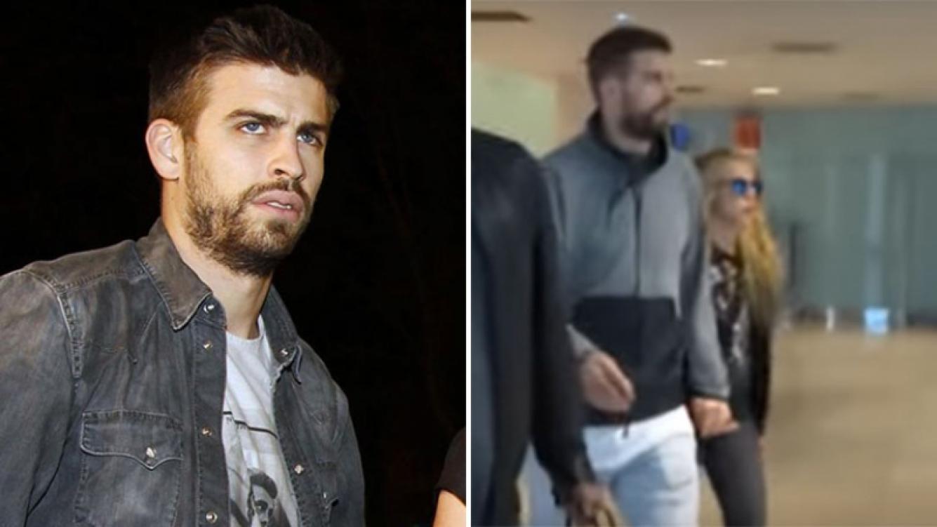 Gerard Piqué agredió a una periodista española delante de Shakira. (Foto: Web)