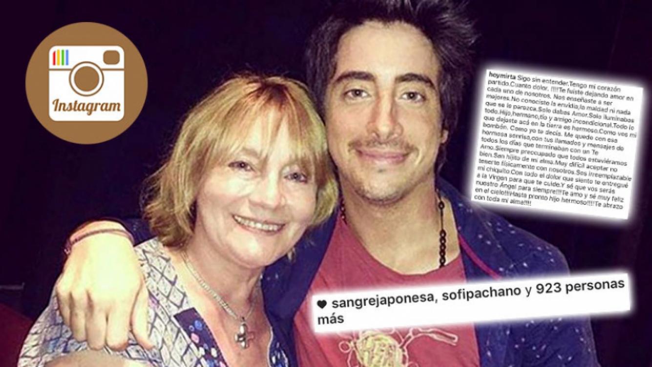 La desgarradora carta de despedida de la mamá de Santiago Vázquez. (Foto: Wev)