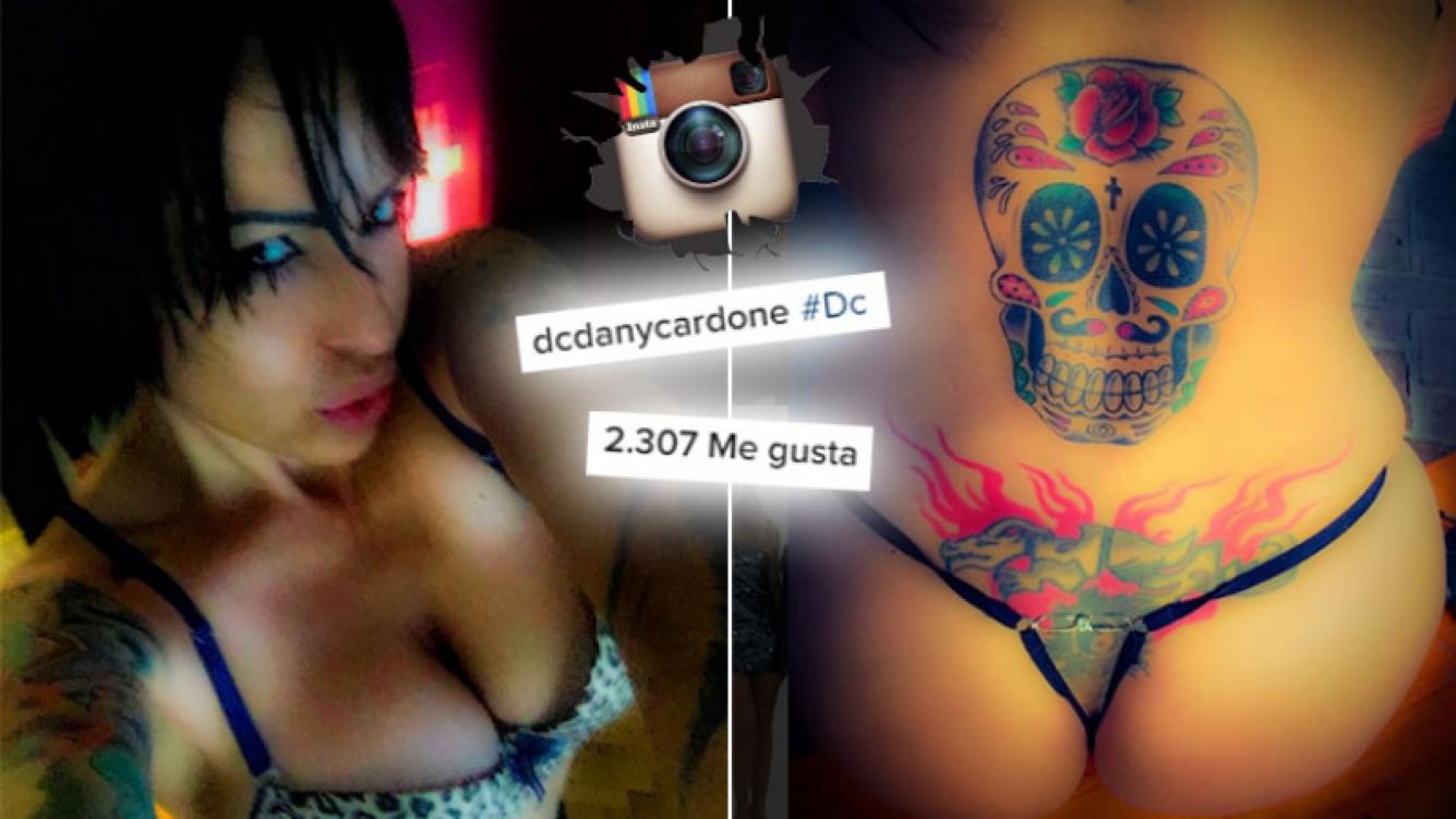 """Daniela Cardone mostró con una foto hot de Instagram su tatuaje más """"íntimo"""". (Foto: Web)"""