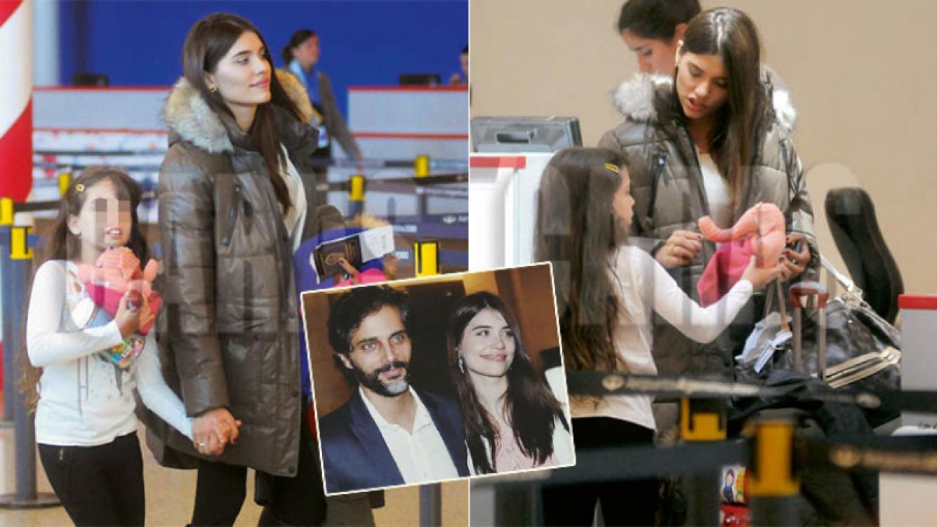Eva de Dominci viajó con la hija de Joaquín Furriel a París (Foto: revista Caras)