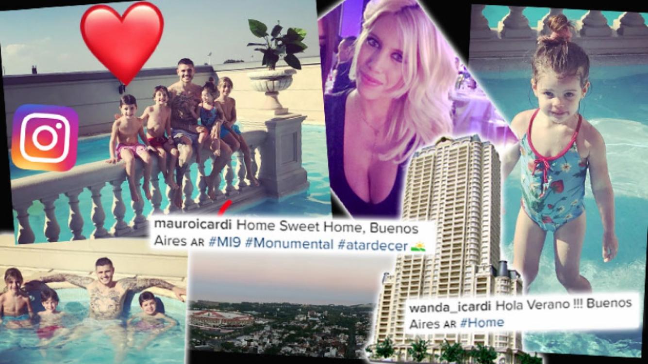 ¡Botinera deluxe! La vida a puro lujo de Wanda Nara en Buenos Aires. (Foto: Web)