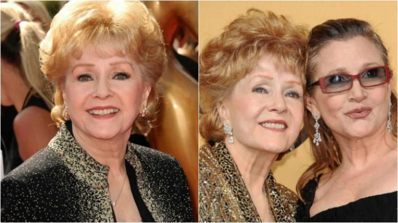 Murió Debbie Reynolds, un día después de la muerte de su hija Carrie Fisher. Foto: Web
