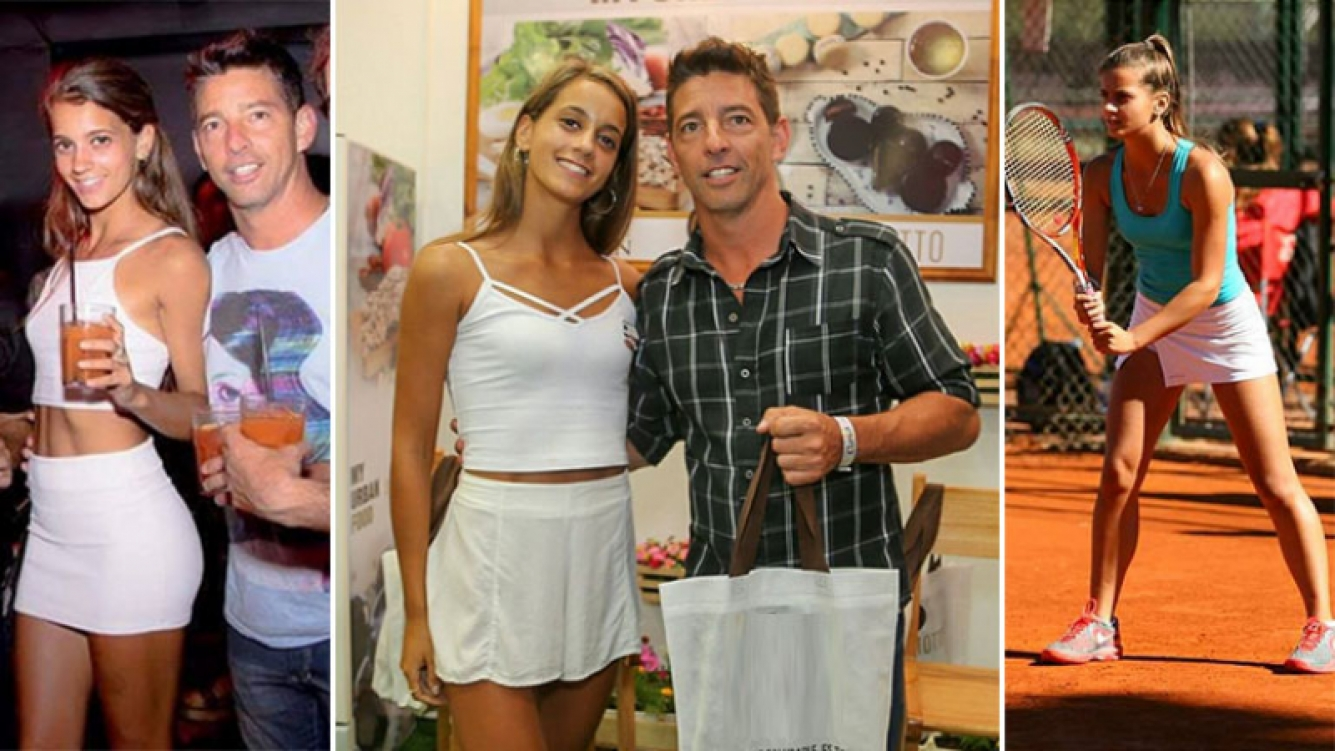 """Florencia Galdo, la novia 25 años menor de Walter """"el chino"""" D"""