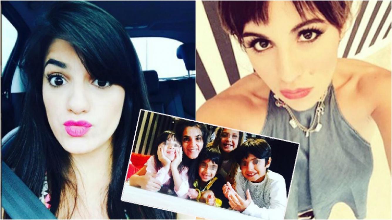Mayra, la hermana del Kun Agüero, durísima con Gianinna Maradona. Foto: Instagram
