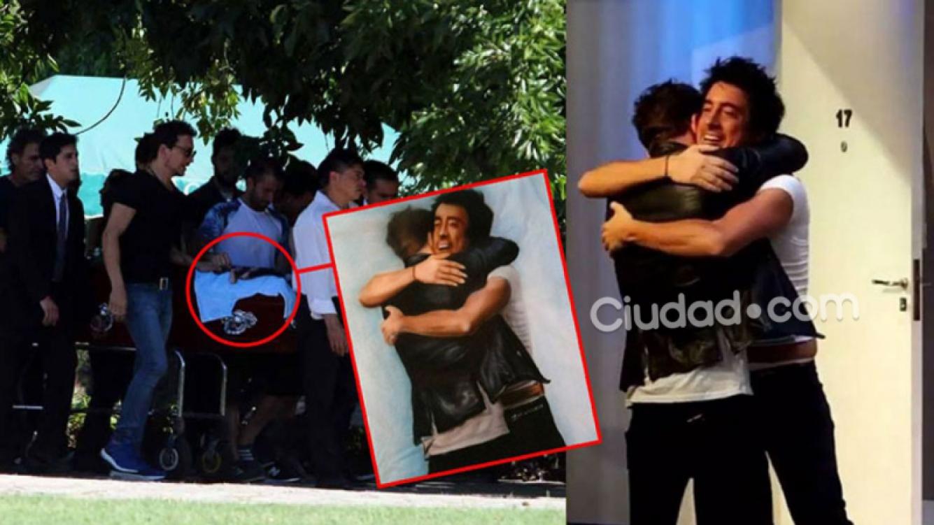 Santiago Vázquez, la conmovedora historia de la remera que lo acompañó en su último adiós (Foto: Instagram y Ciudad.com)