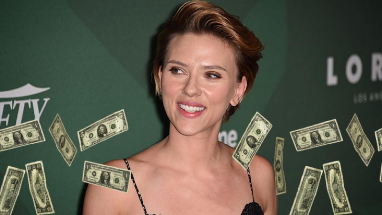 Scarlett Johansson se consagró como la más taquillera de 2016