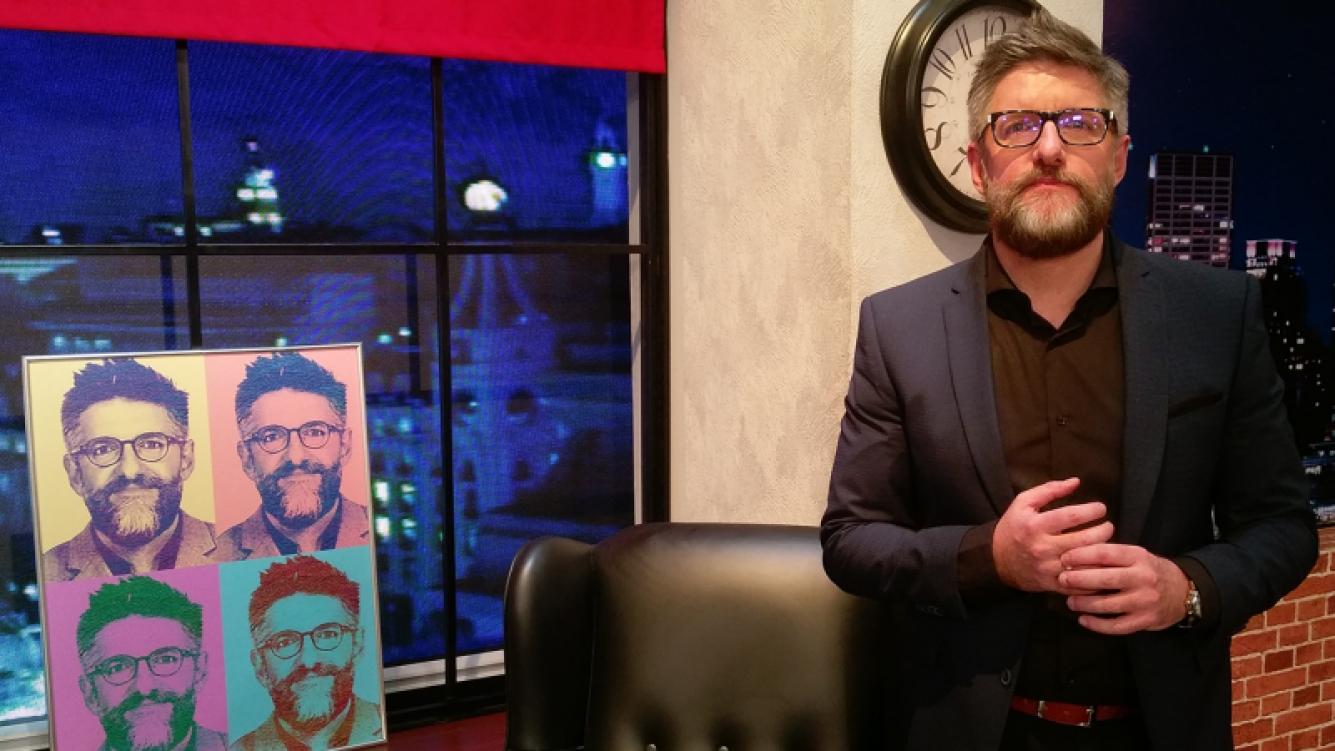 Luis Novaresio se confesó ante Ciudad.com. (Foto: Ciudad.com)