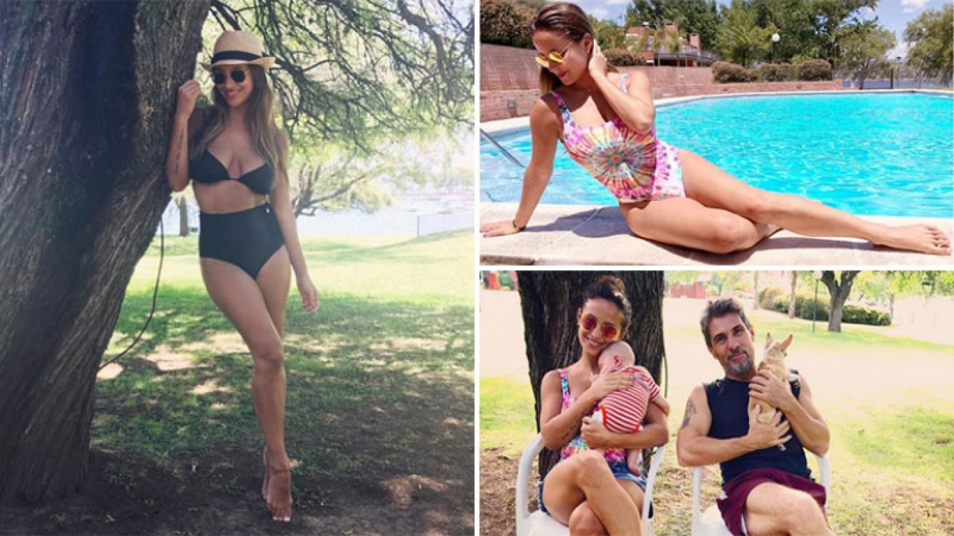 Lourdes Sánchez, diosa en bikini a dos meses de dar a luz a Valentín. (Foto: Instagram)