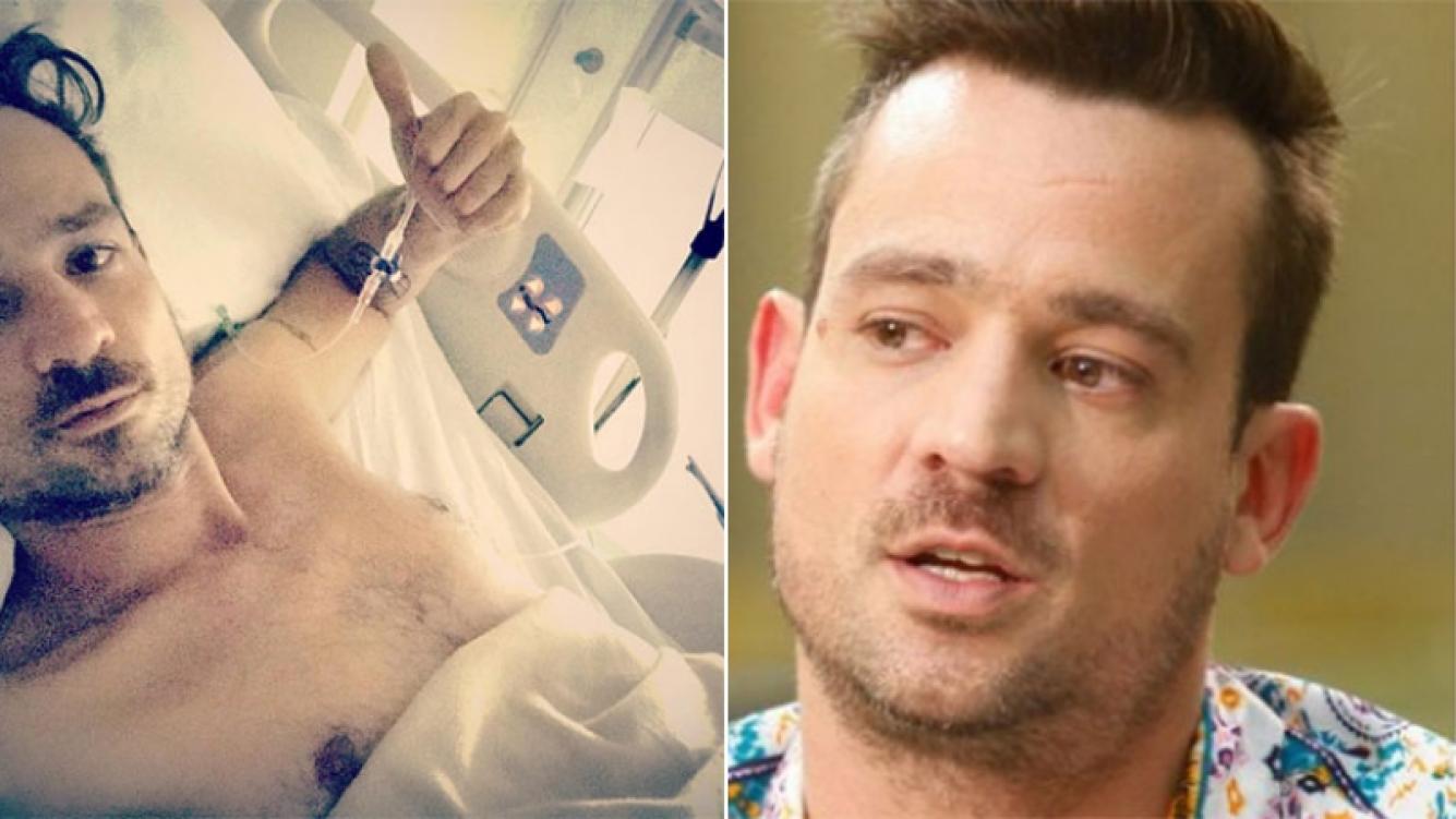 Chano fue dado de alta tras cuatro días de internación en el Sanatorio Finocchieto (Foto: Instagram y web)