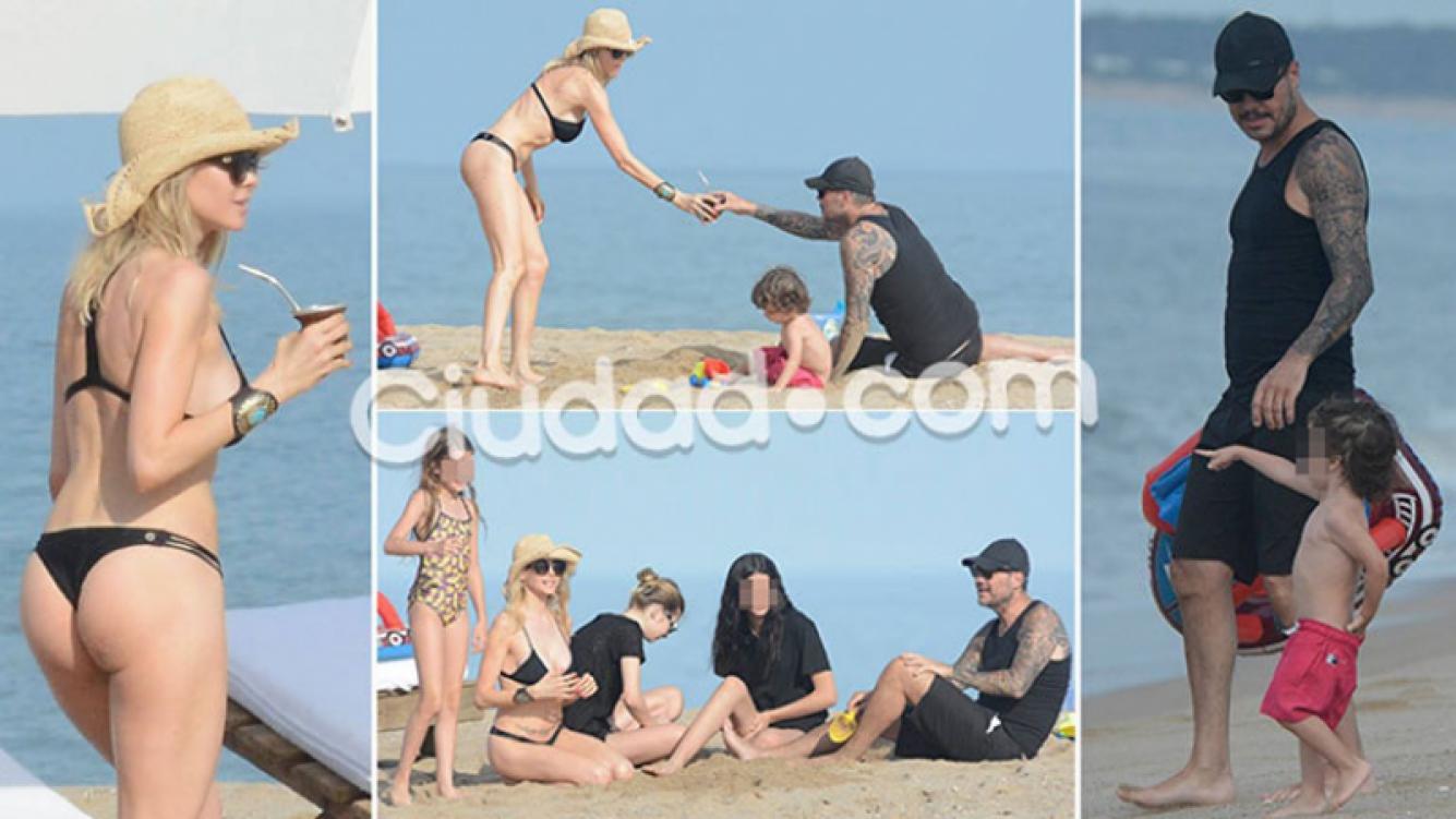 Las fotos de las vacaciones de Marcelo Tinelli y Guillermina Valdés en familia. Foto: GM Press