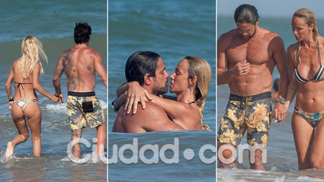 Luciano Castro y Sabrina Rojas pasaron Año Nuevo en Mardel, tras su luna de miel en Punta Cana. (Fotos: revista GM Press)