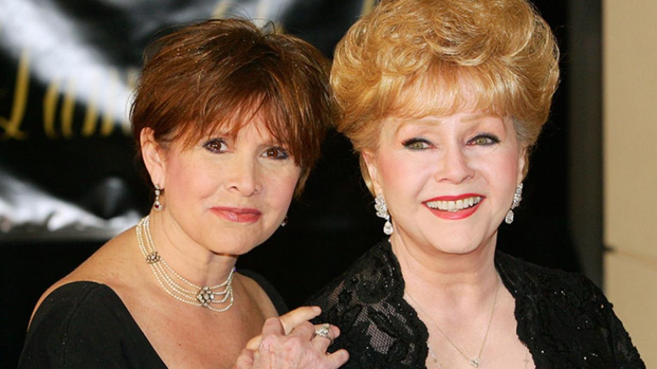 Juntas para siempre: Carrie Fisher y Debbie Reynolds serán enterradas juntas. Foto: AFP