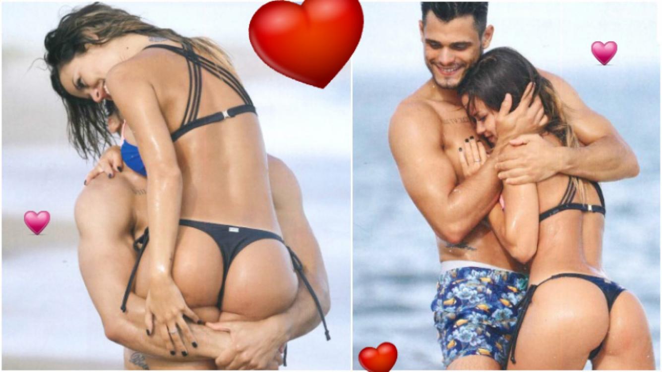 María del Mar y Lucas Velasco le hacen la competencia a Pampita y Pico y se muestran muy enamorados en Punta del Este (Fotos: revista Caras)
