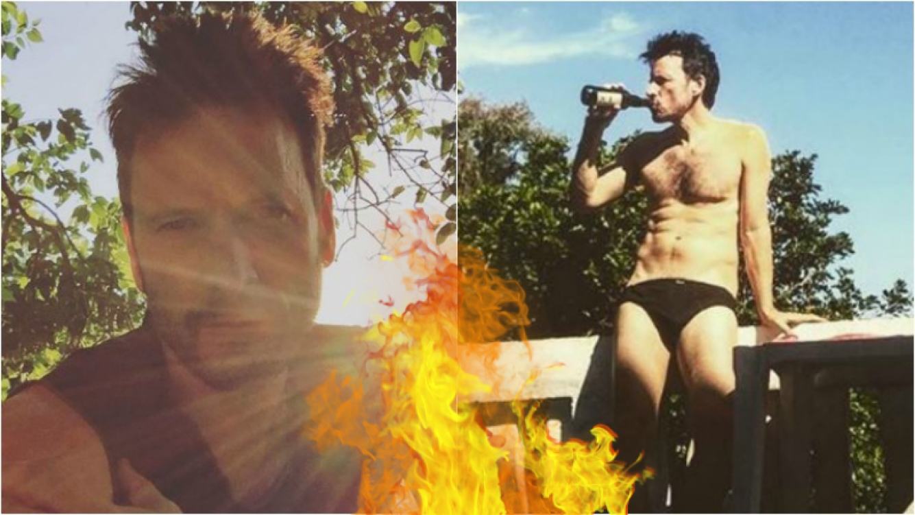 ¡Qué destape! Antonio Birabent calentó Instagram con una foto hot en Brasil. Foto: Insta
