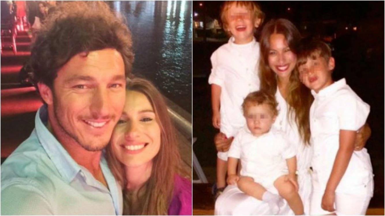 Pampita, sobre la relación de Pico Mónaco con sus hijos. Foto: Web
