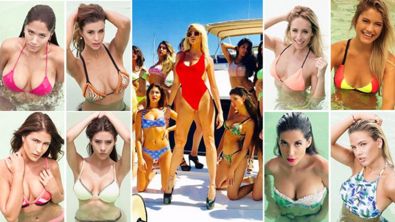 Vicky Xipolitakis presentó a sus 15 ángeles con un video en Twitter. (Foto: Web)