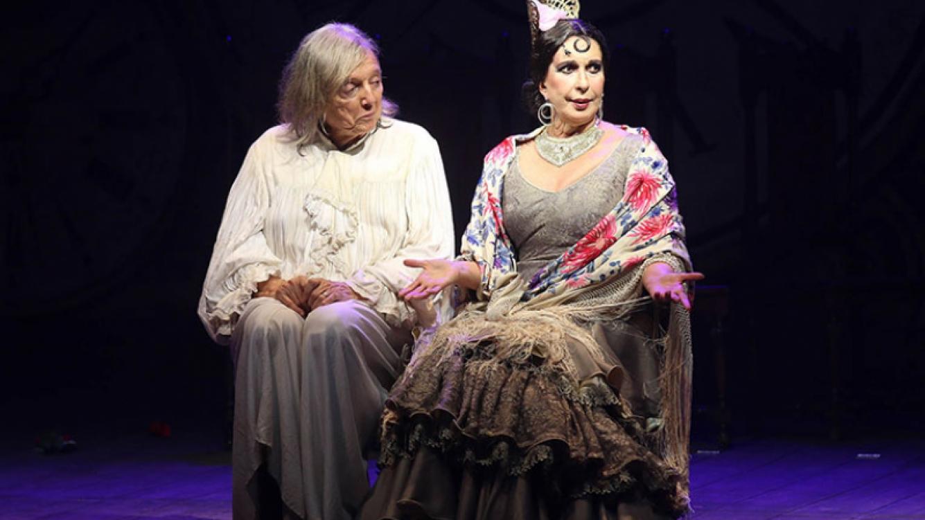 Pepe Cibrian y Georgina Barbarossa y un emotivo debut con Lord.