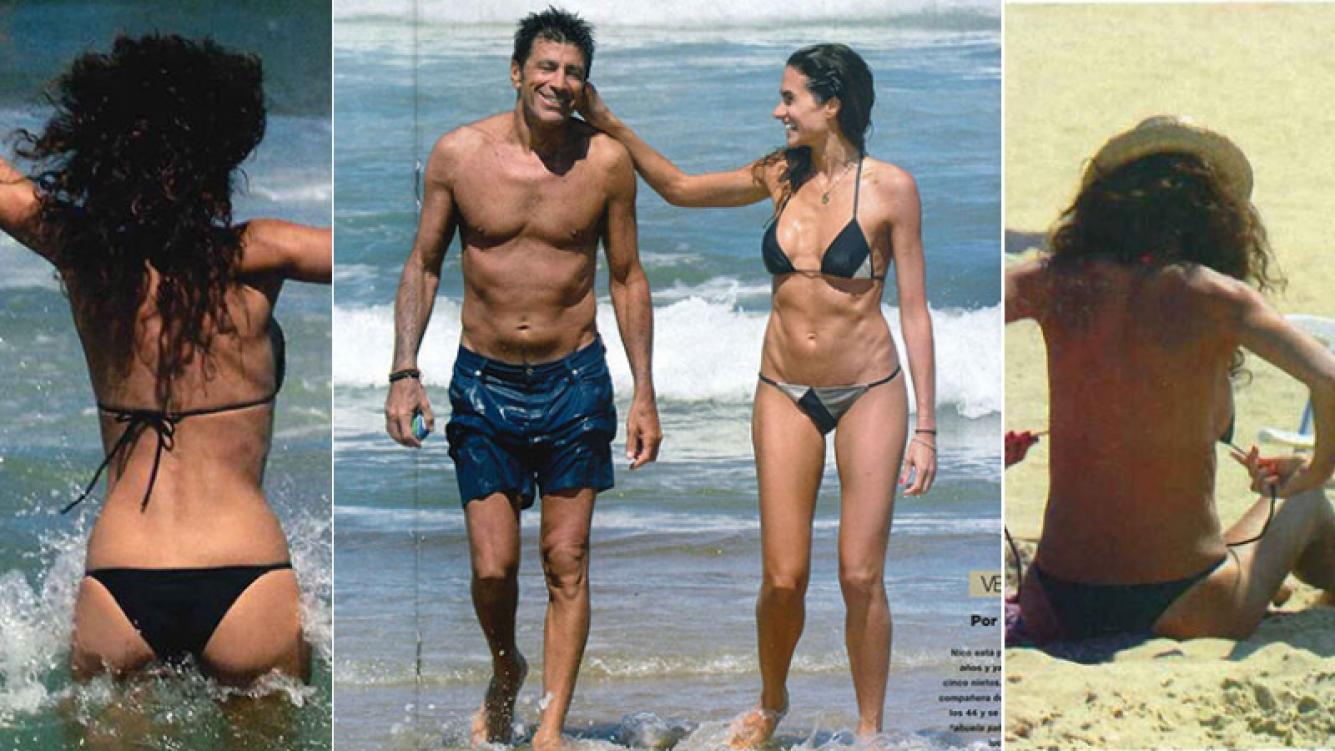 Florencia Raggi y Nicolás Repetto disfrutan de sus vacaciones en Punta del Este. (Fotos: revista Gente)