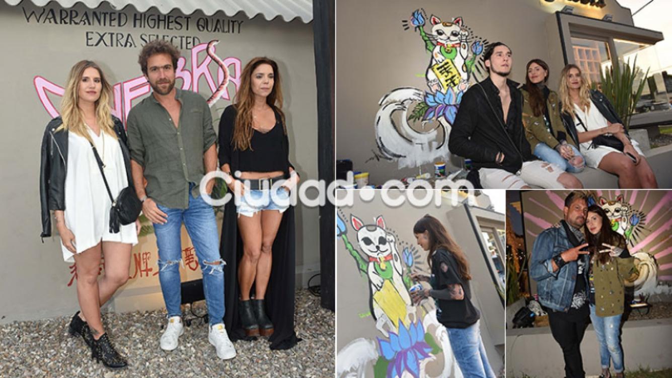 Evento de Ginebra, la marca de Mica Tinelli en Punta del Este (Foto: GM Press)