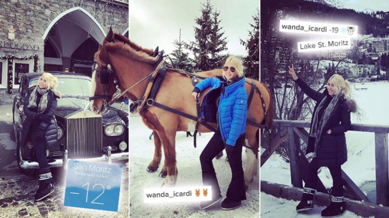 """Las fotos de las vacaciones """"bajo cero"""" de la botinera, tras pasar por Marbella y Milán. (Foto: Instagram)"""