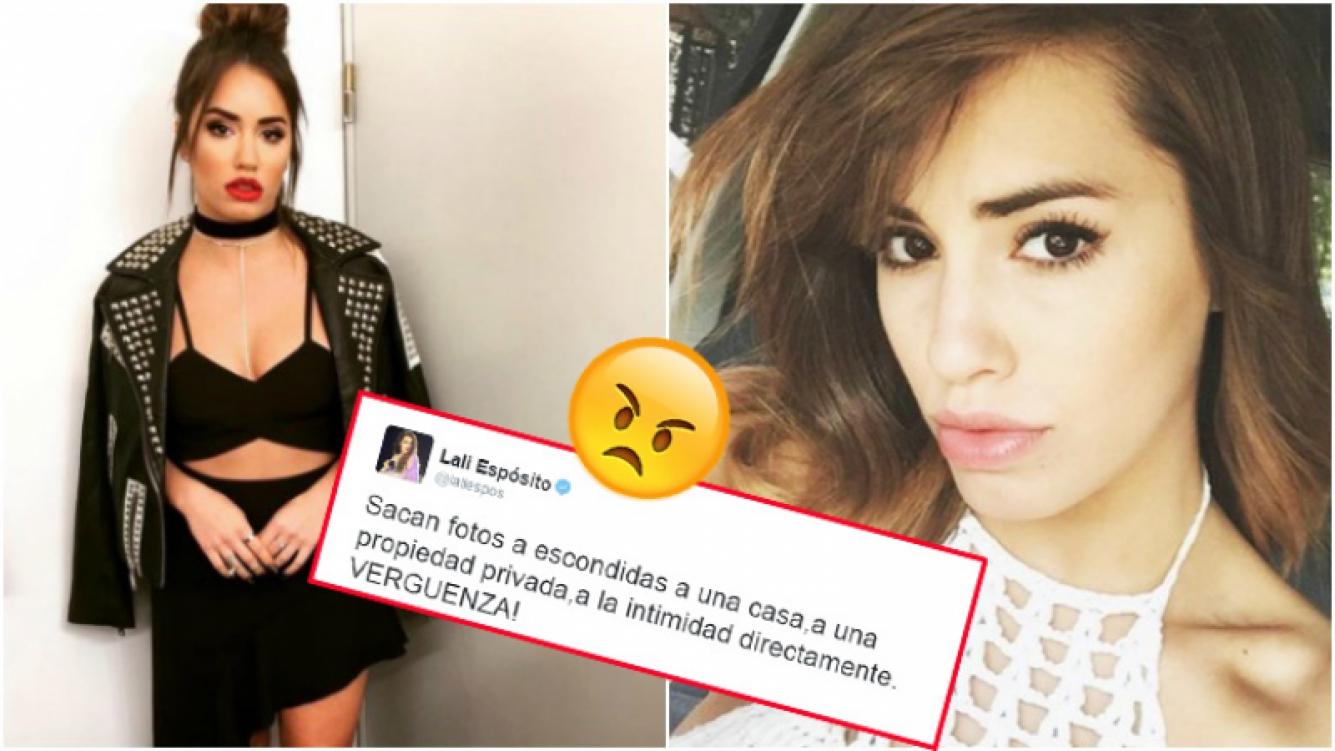 El enojo de Lali Espósito y su descargo en Twitter (Fotos: Instagram)