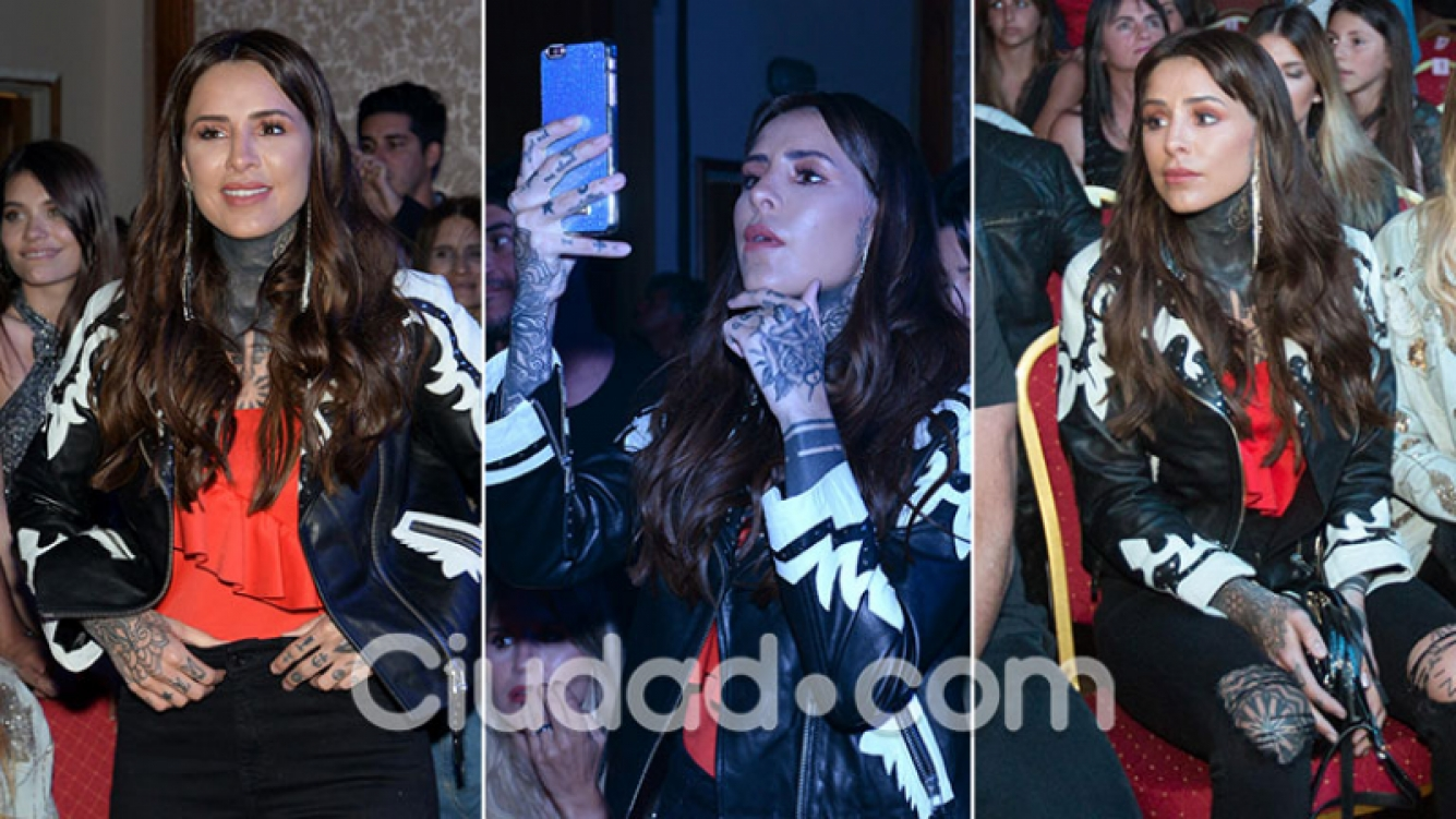 El súper look de Cande Tinelli en el show de Lali Espósito en Punta del Este. (Foto: GM Press)
