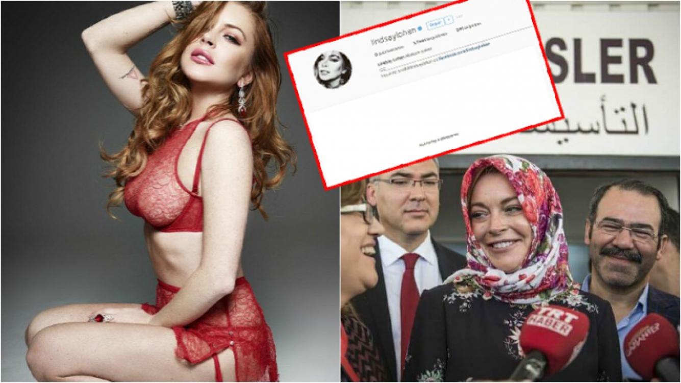 Resultado de imagen para lindsay lohan islam